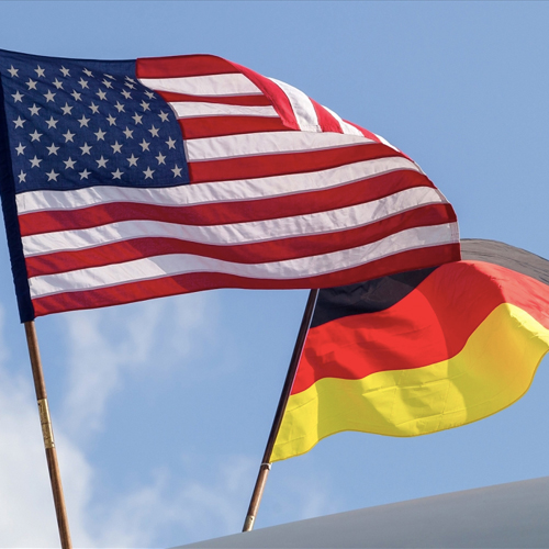 Германия впервые обогнала США